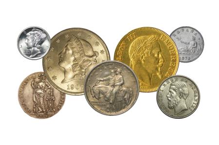 coins dealer coin collection